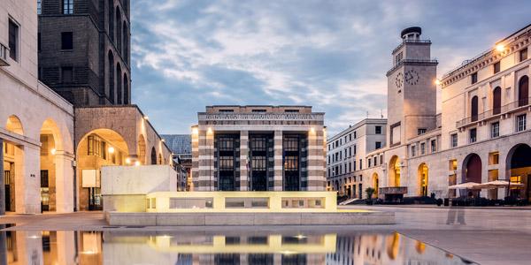 Brescia, die zweitgrößte Stadt in der Lombardei